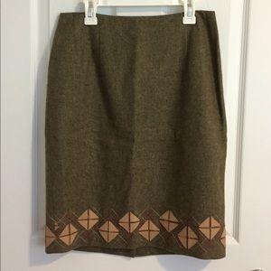 size 2 LOFT skirt